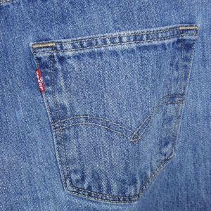 Levi's Jeans - Levi's 501 blue jeans 30 32 button fly distressed